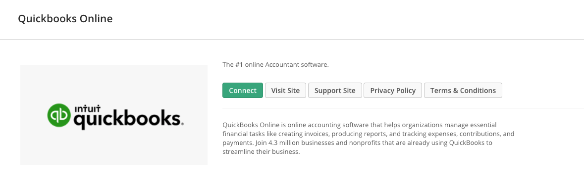 QuickBooks Online: Getting Started – Kindful Help Center